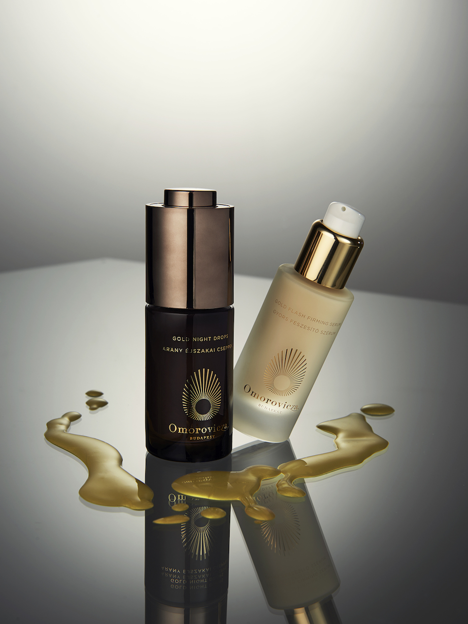Omorovicza Gold Night Drops Omorovicza Gold Flash Firming Serum Photography / Mitch Payne