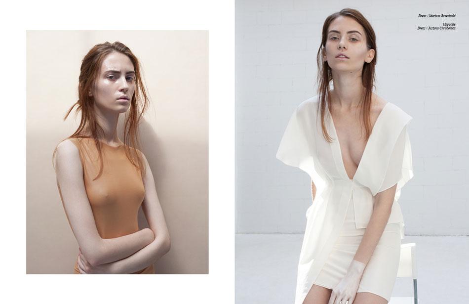 Left Dress /  Justyna Chrabelska Right  Dress / Mariusz Brzeziński