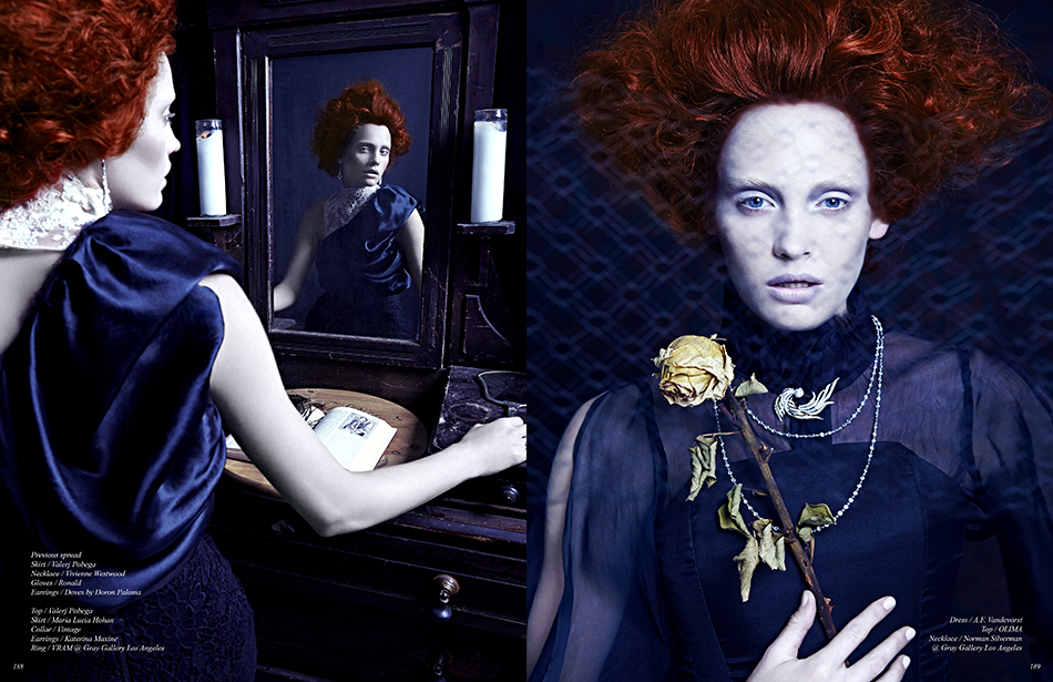 Photography / Jack Waterlot Hair & Production. Gareth Bromell