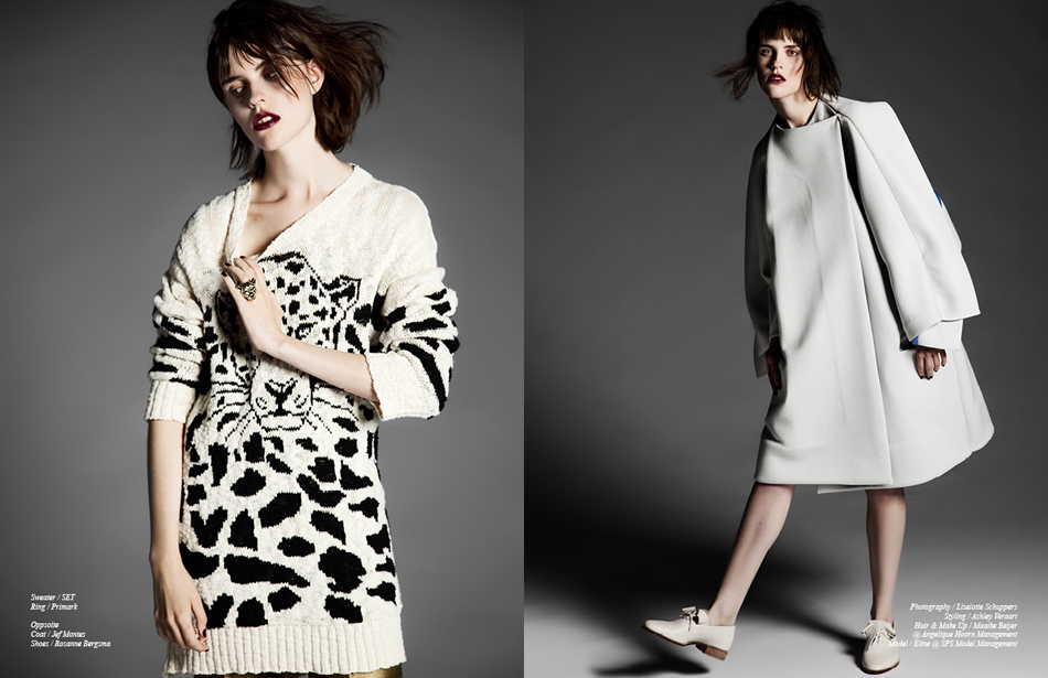 Left Sweater / SET Ring / Primark Right Coat / Jef Montes Shoes / Rosanne Bergsma