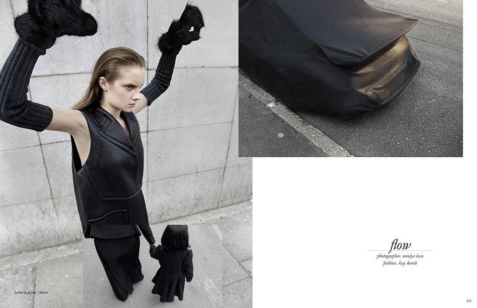 Photographer / Orsolya Luca Fashion / Kay Korsh Jacket & gloves / Marni