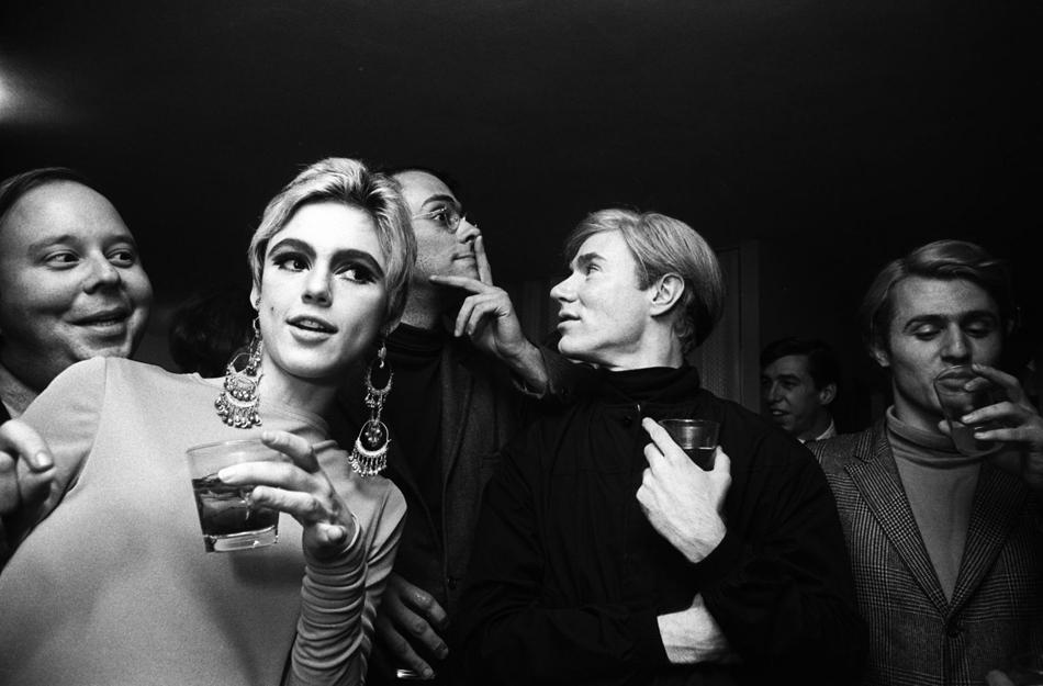 'Warhol Entourage', New York, 1965, by Steve Shapiro