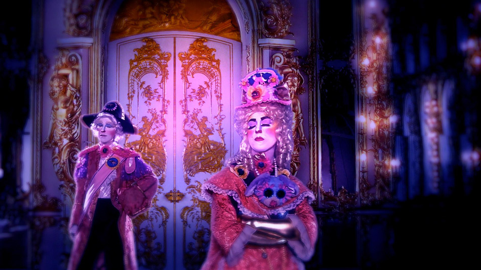 Rachel Maclean, Over The Rainbow, 2013   41.28 min, Digital Video Commissioned by The Banff Centre, Canada and The Collective Gallery, Edinburgh. Funded by Creative Scotland