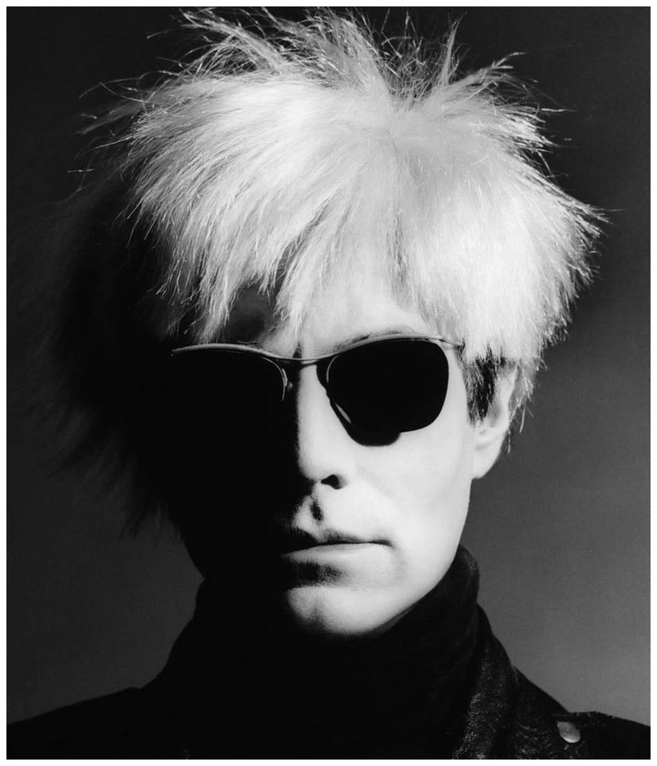 Andy Warhol, Los Angeles 1986, by Greg Gorman