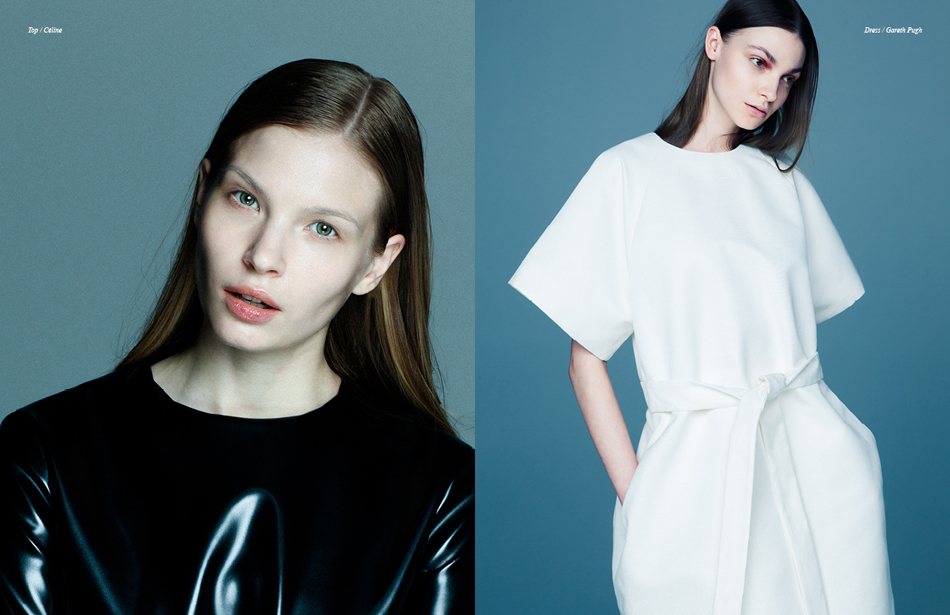 Left Top / Céline Right Dress / Gareth Pugh