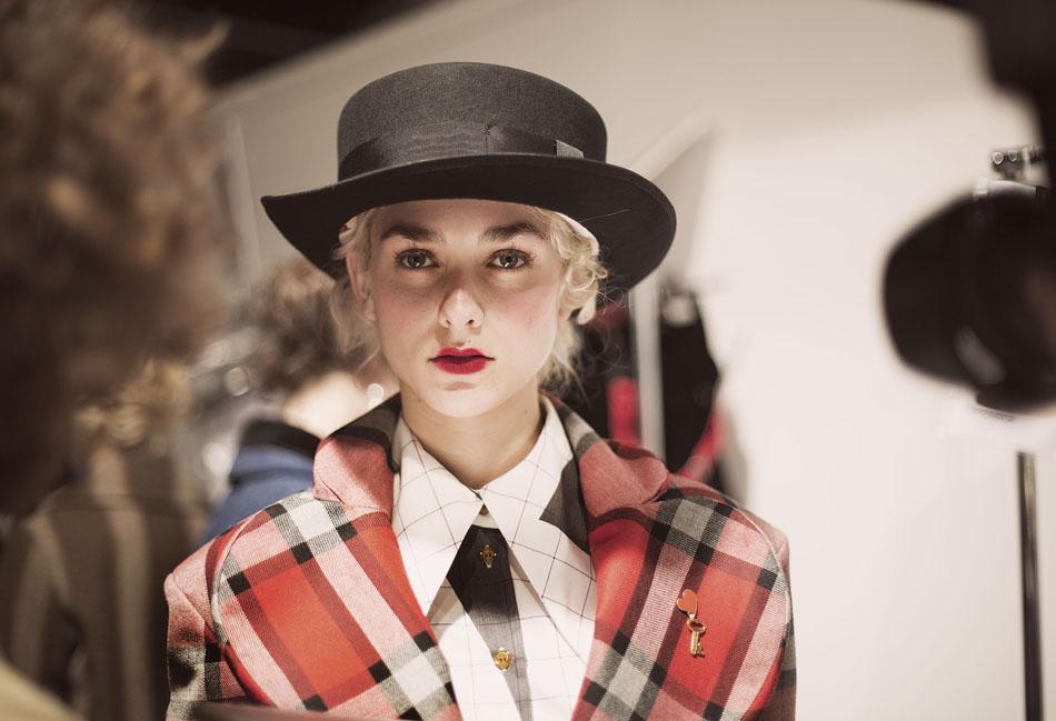 Backstage Vivienne Westwood