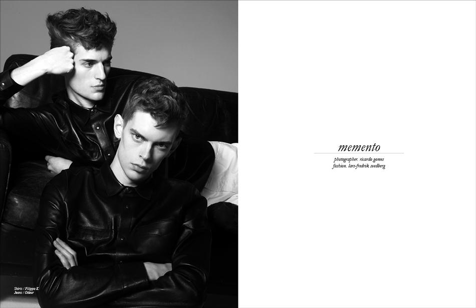 Photographer / Ricardo Gomes Fashion / Lars-Fredrik Svedberg Shirts / Filippa K Jeans / Odeur