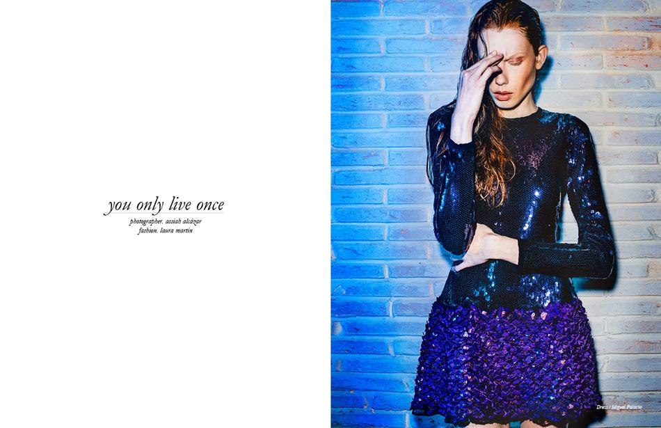 Photographer / Assiah Alcázar Fashion / Laura Martín Dress / Miguel Palacio