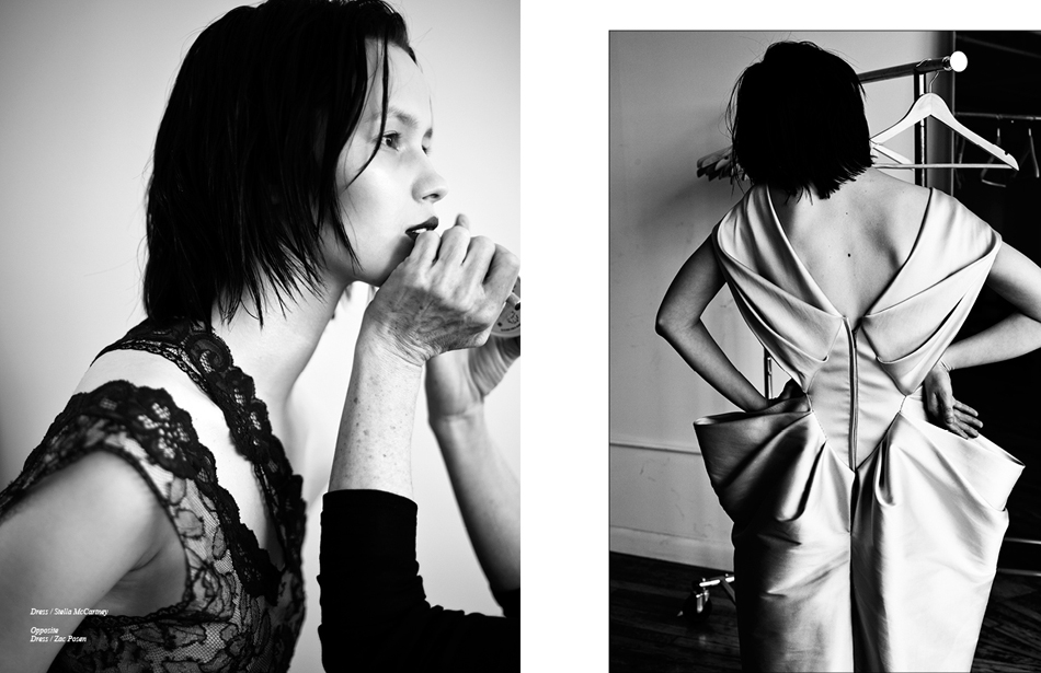 Left Dress / Stella McCartney Right Dress / Zac Posen