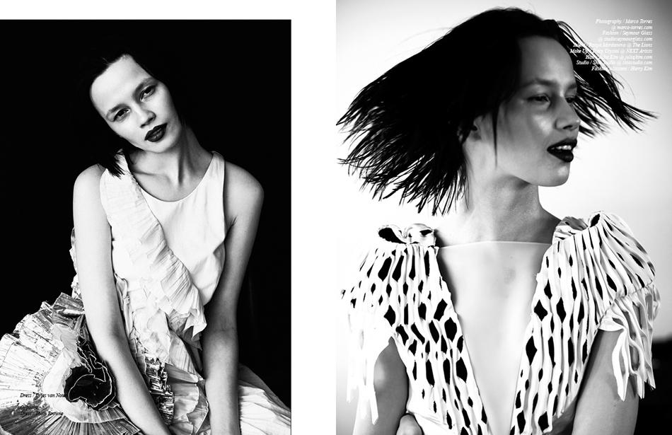 Left Dress / Dries Van Noten Right Dress / Thom Browne