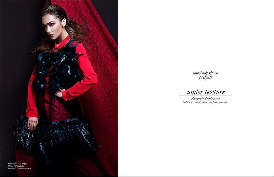 Waistcoat / Kika Vargas Shirt / Calvin Klein  Trousers / Carolina Herrera