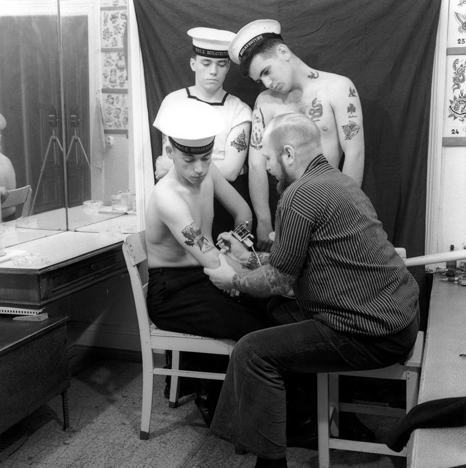 Flottenbesuch in Hamburg, 1966.
