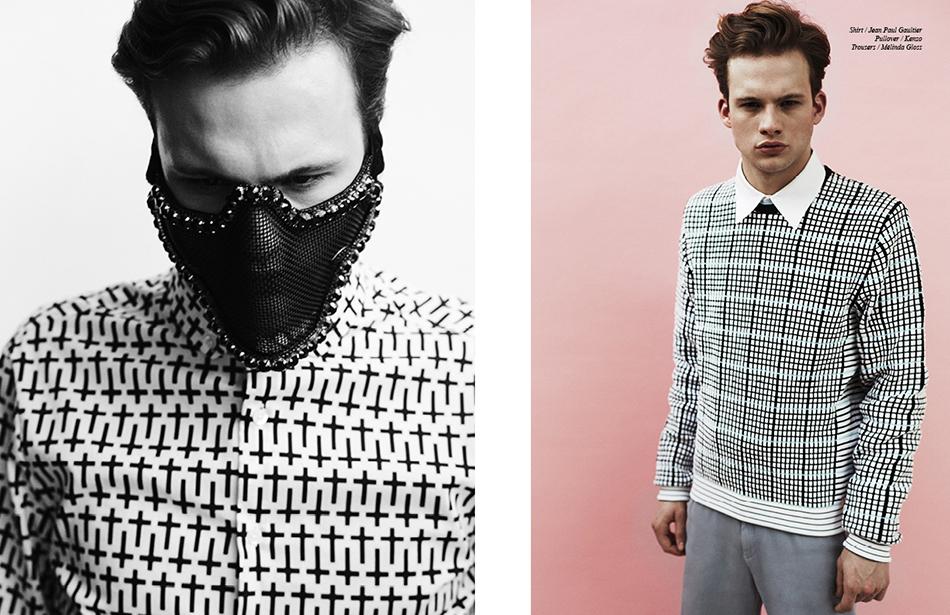 Shirt / Jean Paul Gaultier Pullover / Kenzo  Trousers / Mélinda Gloss