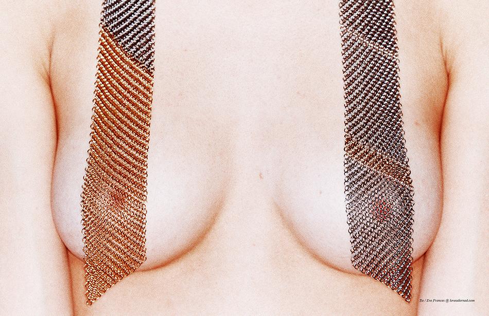 Tie / Eve Frances @ loveadorned.com