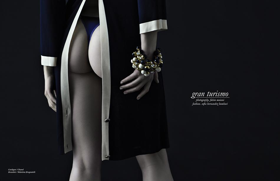Cardigan / Chanel Bracelets / Valentina Brugnatelli