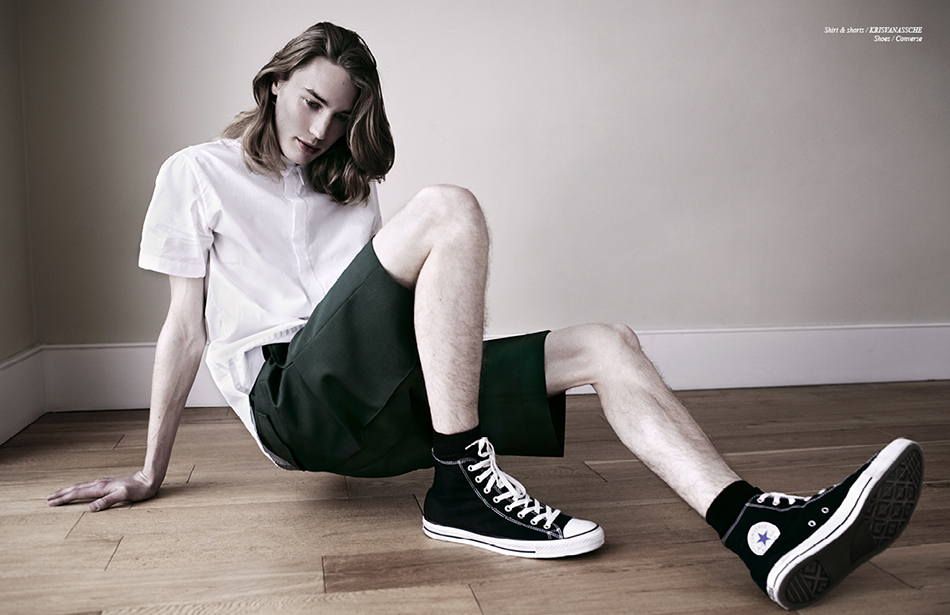 Shirt & shorts / KRiSVANASSCHE  Shoes / Converse