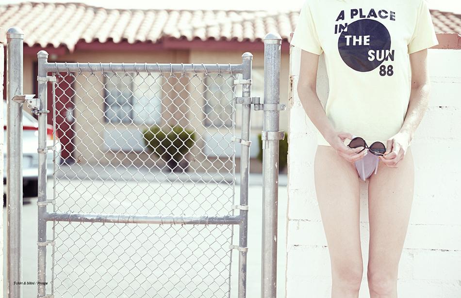 T-shirt & bikini / Vintage