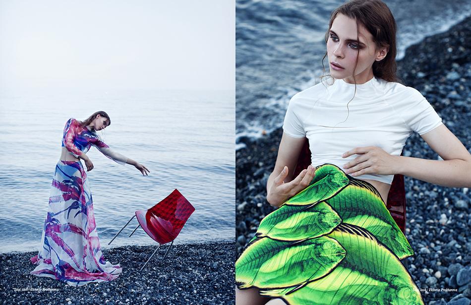 Left Total look / Victoria Prokhorova Right Total look / Victoria Prokhorova