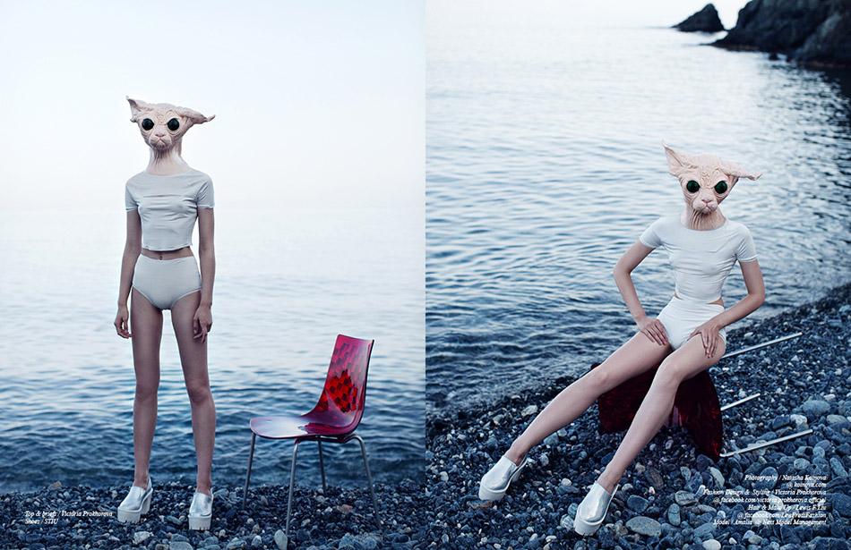 Top & briefs / Victoria Prokhorova  Shoes / STIU