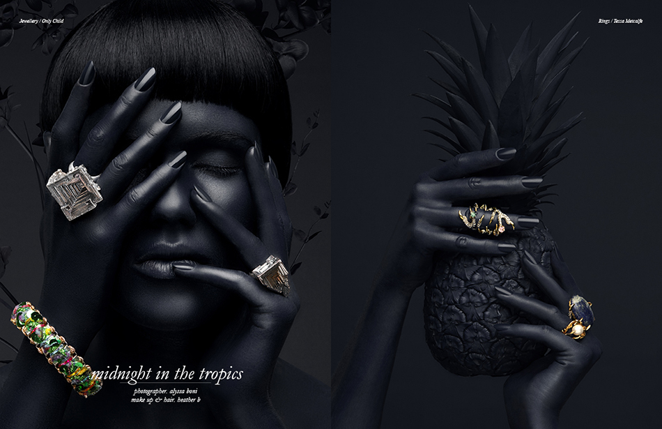 Left Jewellery / Only Child Right Rings / Tessa Metcalfe