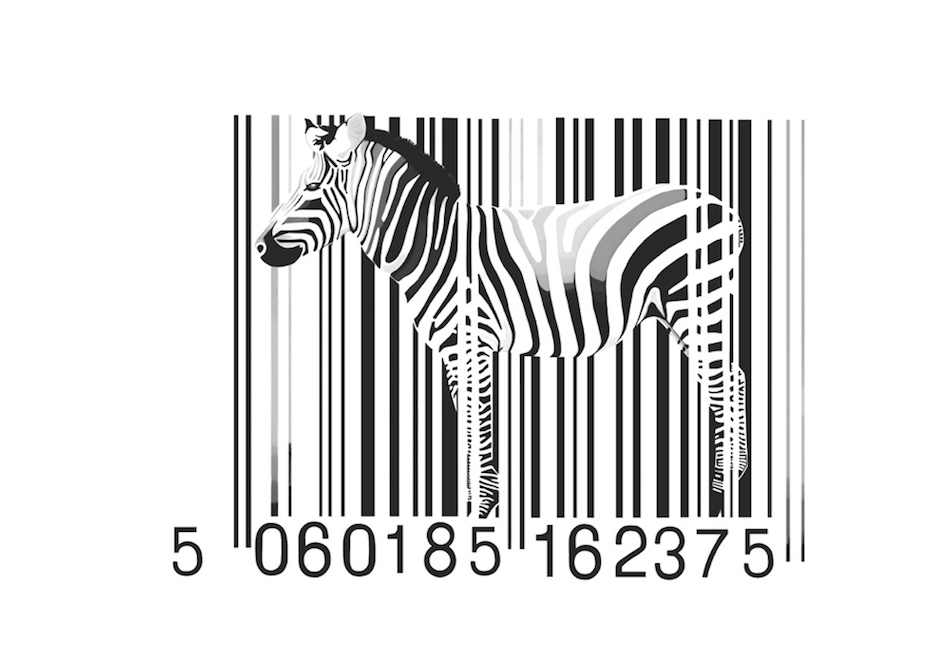 Zebra Barcode by Day-Z