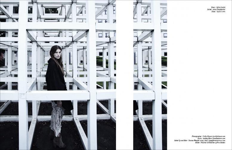 Dress / Milla Lintilä  Jacket / Anna Freudenthal  Shoes / Stylist's own