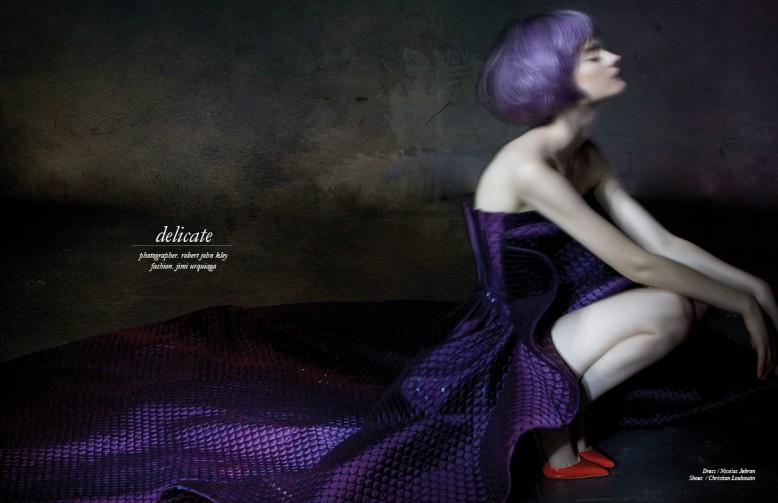 Dress / Nicolas Jebran Shoes / Christian Louboutin