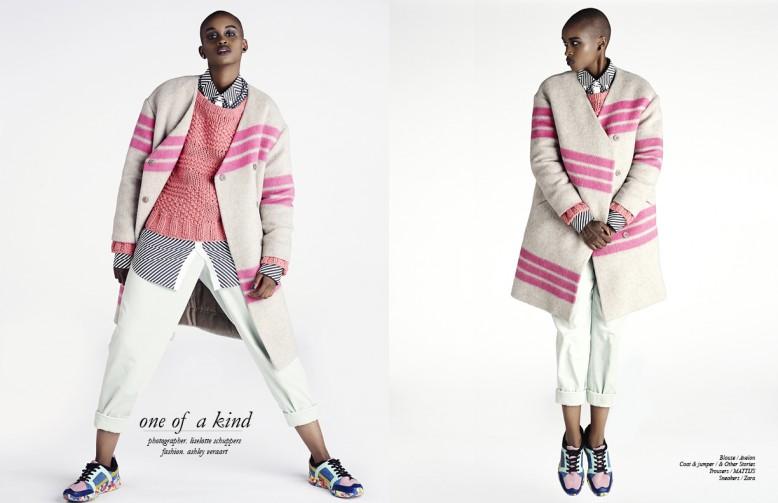 Blouse / Avelon  Coat & jumper / & Other Stories  Trousers / MATTIJS Sneakers / Zara