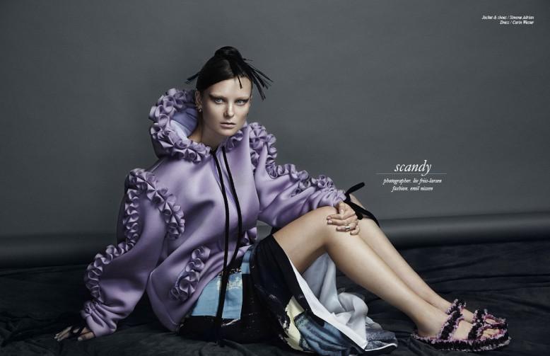 Jacket & shoes / Simone Adrian  Dress / Carin Wester