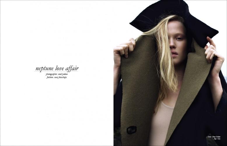 Coat / Tony Cohen  Top / Cos