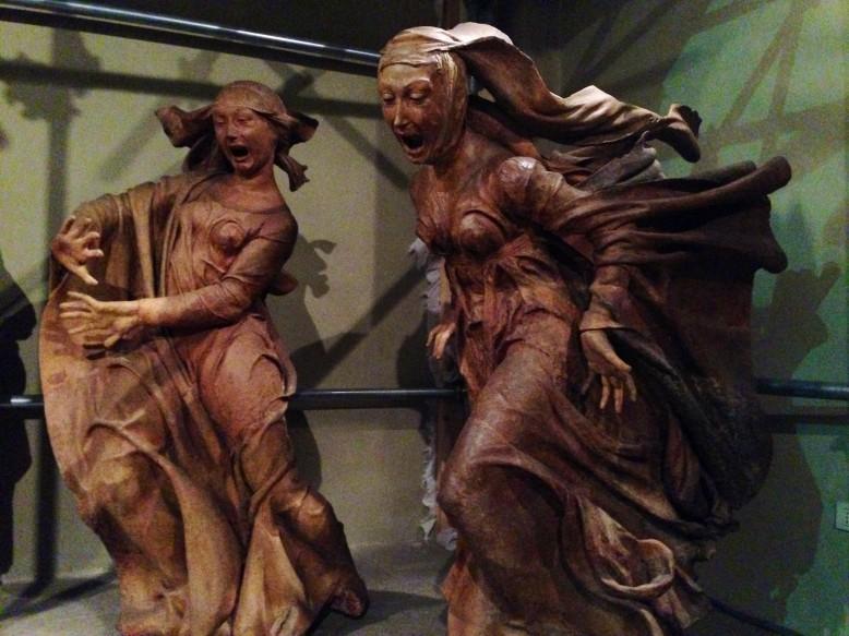 Sorrow over Dead Christ (1463) Niccolò dell'Arca