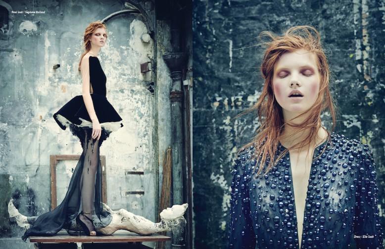 Total look / Stephane Rolland Opposite Dress / Elie Saab