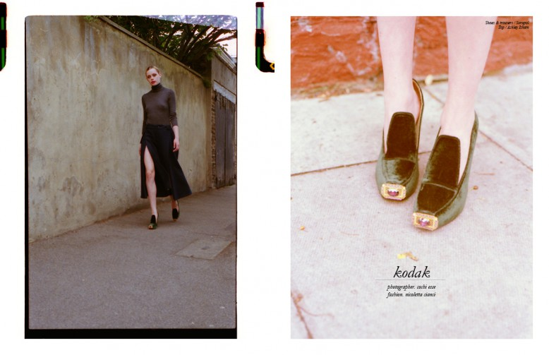 Shoes & trousers / Sorapol  Top / Ashley Isham