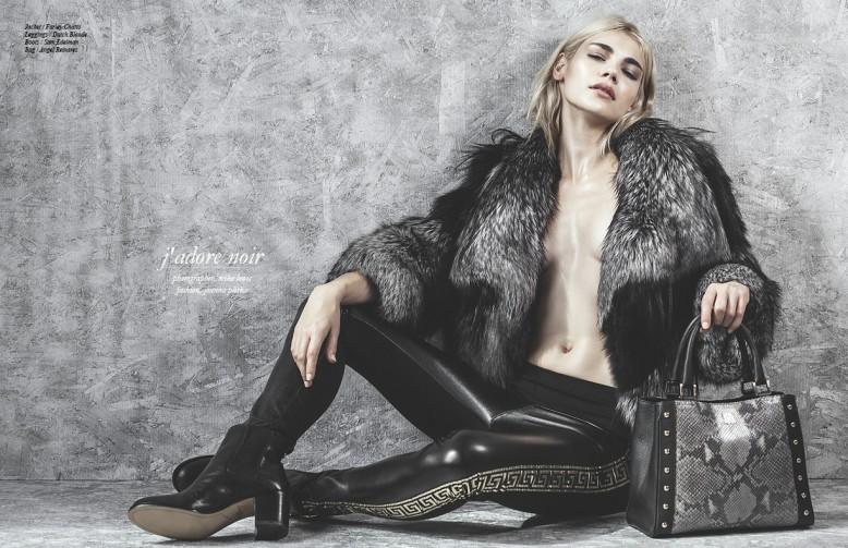 Jacket / Farley Chatto Leggings / Dutch Blonde  Boots / Sam Edelman Bag / Angel Reinares