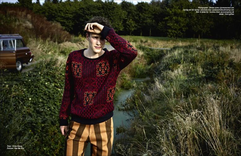 Pants / Kilian Kerner Pullover / Zee Gee Why