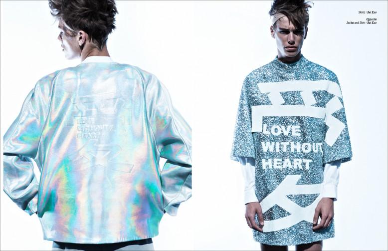 Shirts / Bei Kuo Opposite Jacket and Shirt / Bei Kuo