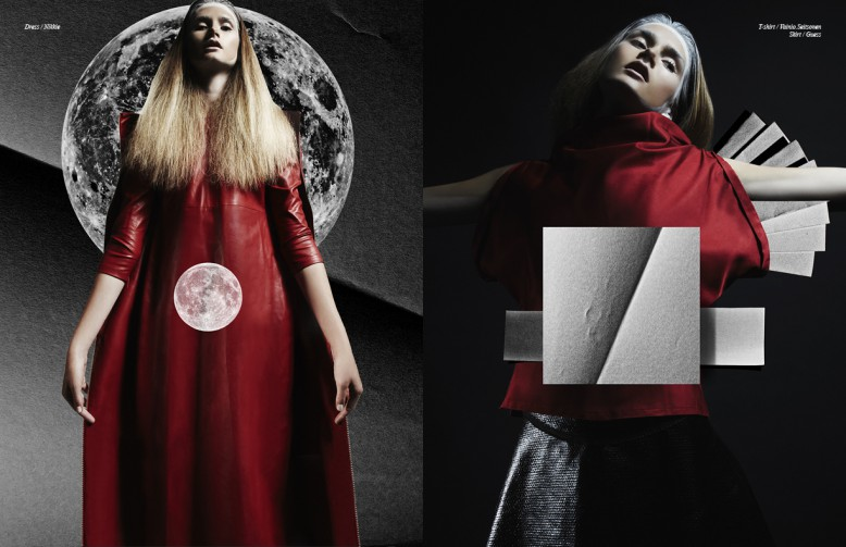 Left to Right/ Dress / Nikkie Opposite T-shirt / Vainio Seitsonen Skirt / Guess