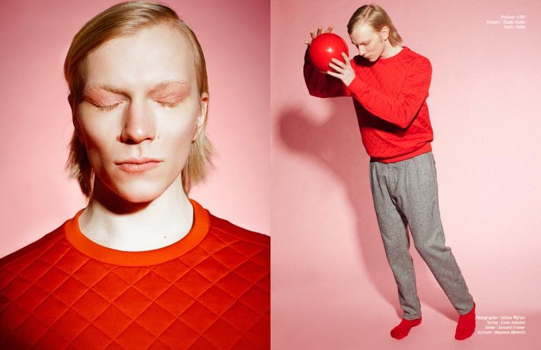 Pullover / COS Trousers / Études Studio Socks / Falke