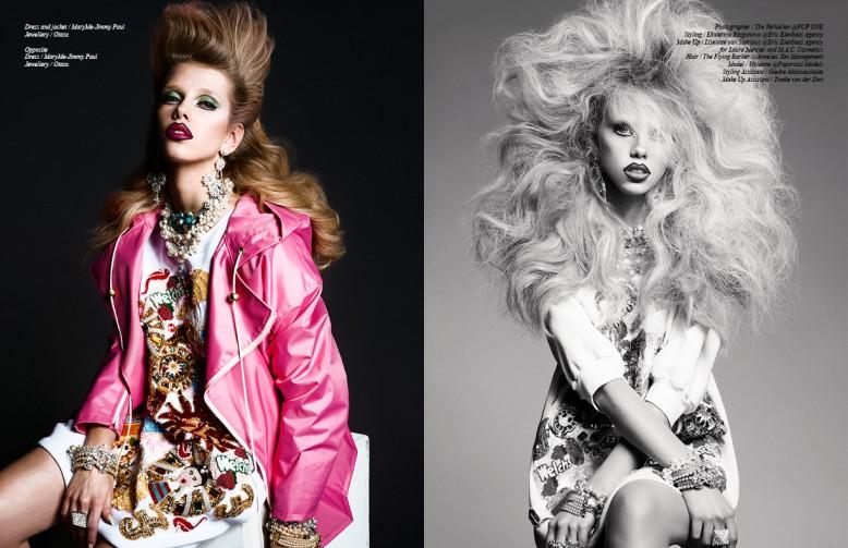Left Dress and jacket / MaryMe-Jimmy Paul Jewellery / Otazu Right Opposite Dress / MaryMe-Jimmy Paul Jewellery / Otazu