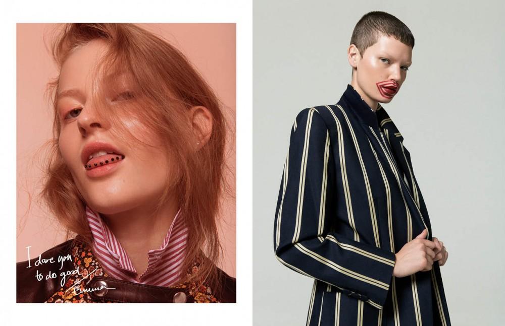 Shirt / Lanvin Vest / Rika Foundation / Laura Mercier Highlighter / RMS Eyeshadow / MAC Opposite Jacket / Moschino Concealer / Chanel Shading / Chanel Lipstick / MAC Lipliner / Makeupstore Highlight / Chanel