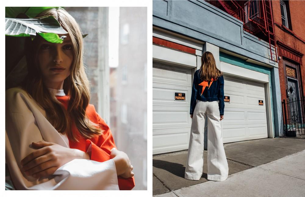 Top / Arthur Arbesser Opposite Jacket & Shoes / Karen Walker Trousers / Hellessy
