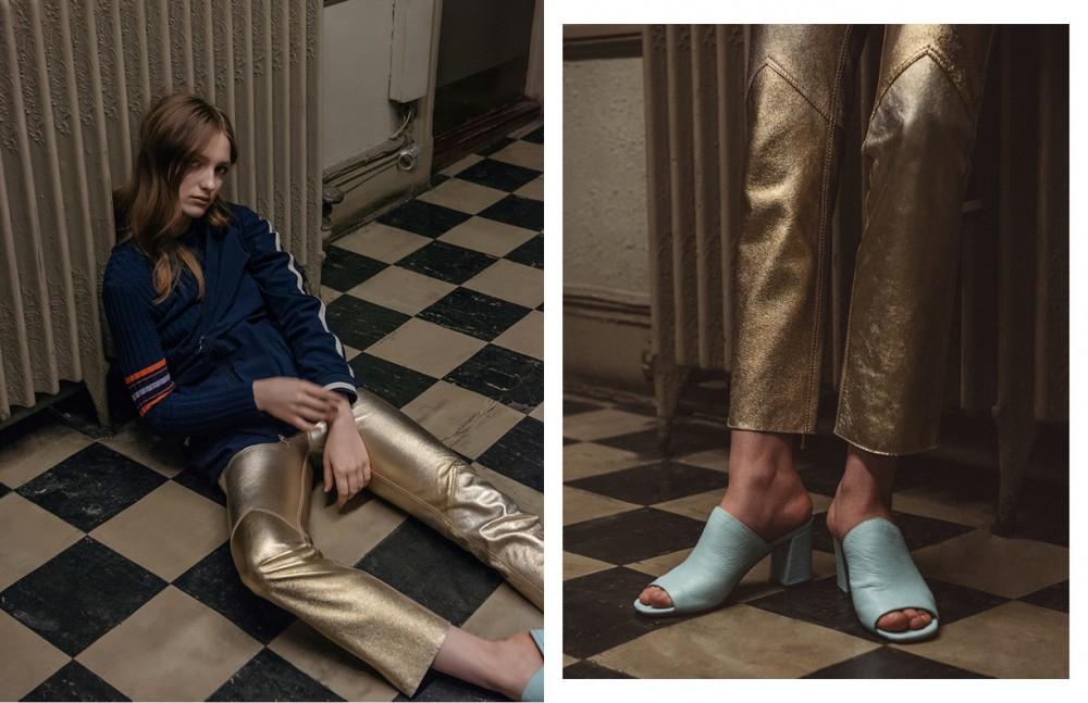 Top / Karen Walker Jacket / Prada Trousers / Karen Walker Shoes / Maryam Nassir Zadeh