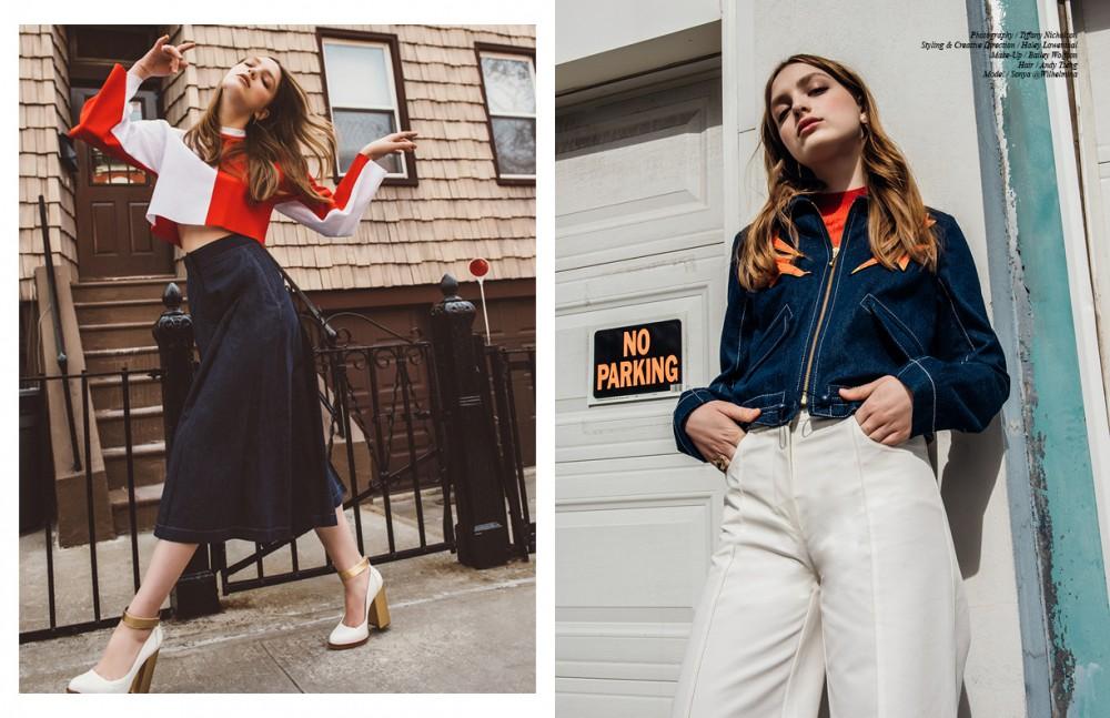 Top / Arthur Arbesser Trousers / Mantu Shoes / Karen Walker Opposite Jacket / Karen Walker Trousers / Hellessy