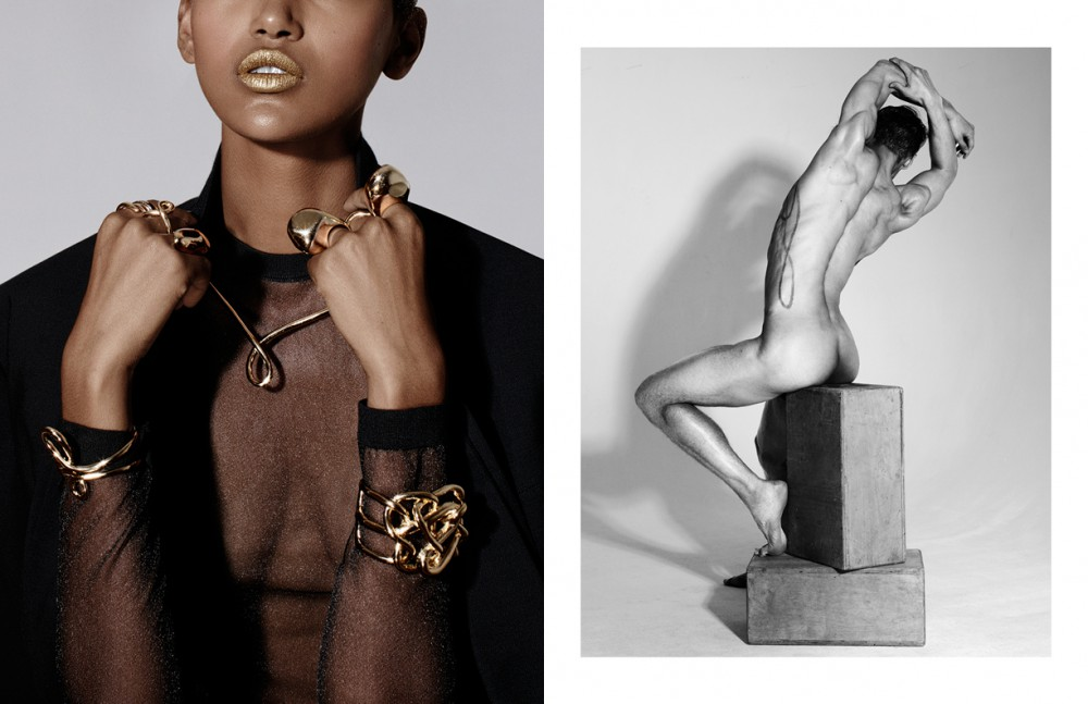 Necklace & Bracelets / Jennifer Fisher Rings on Left / Alexis Bittar Rings on Right / Alexis Bittar, Jennifer Fisher & Selin Kent