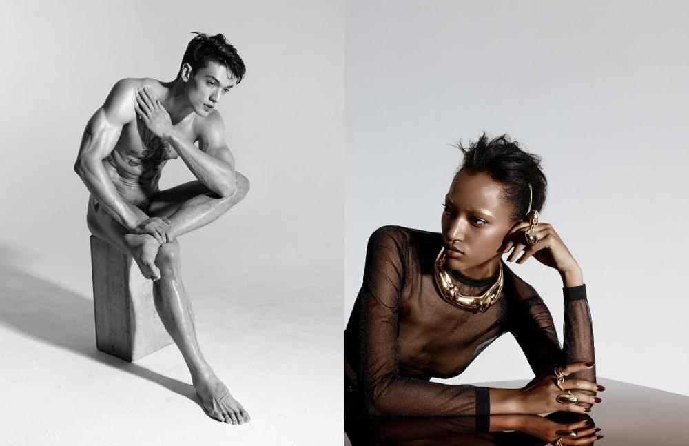 Necklace / Aurelie Bidermann Rings on Left / Alexis Bittar Rings on Right / Alexis Bittar, Jennifer Fisher & Selin Kent