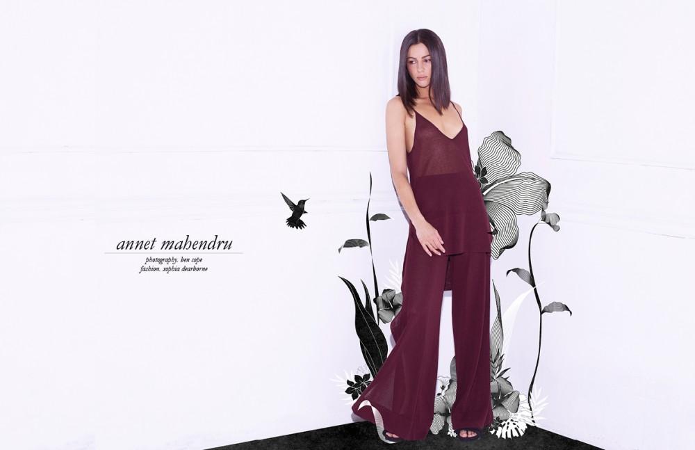 Tank & Trousers / Soyer Heels / Bionda Castana