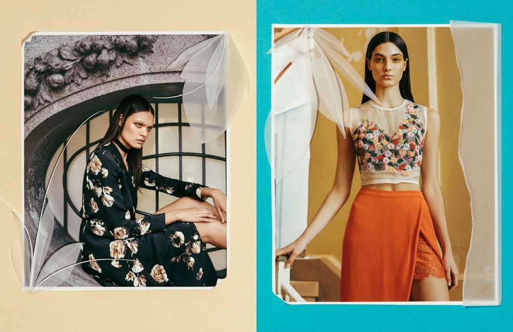 Dress / Ashley Woodson Opposite Top / NM Atelier Skirt / Mason