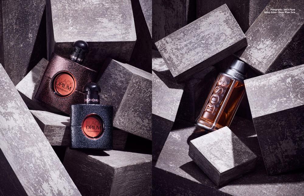 Black Opium / Yves Saint Laurent Opposite Boss The Scent / Hugo Boss