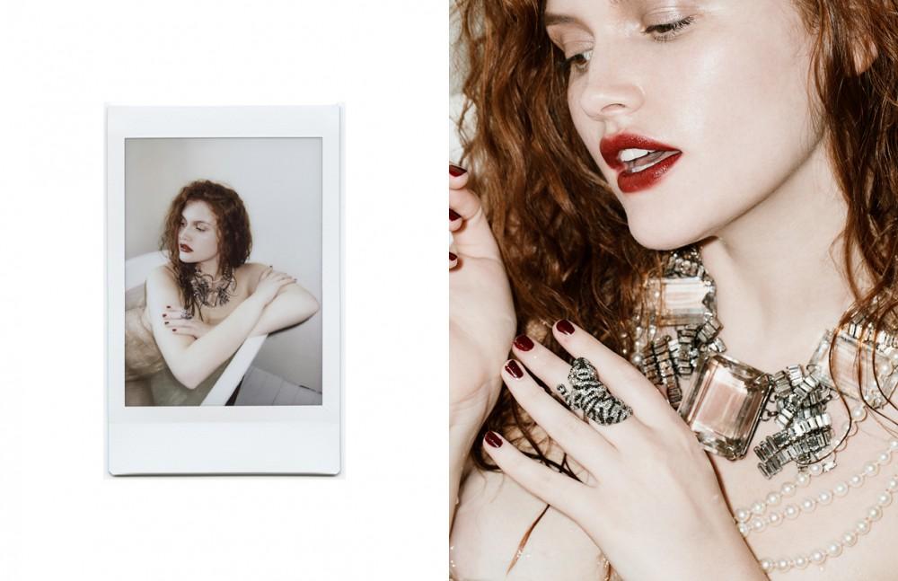 Pearl Necklace / Tasaki Diamanté Necklace / Iradj Moini Tiger Ring / KMO Paris