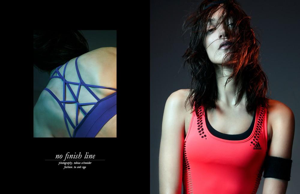 Sport Bra / Fabletics Sport Bra & Sweatband / Nike Opposite Top / Adidas